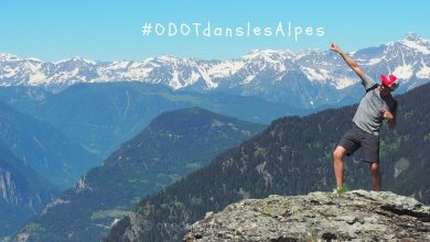 Photo of Faire du Yoga en altitude dans les Alpes