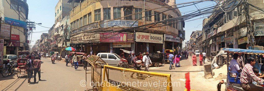 rue old delhi Inde