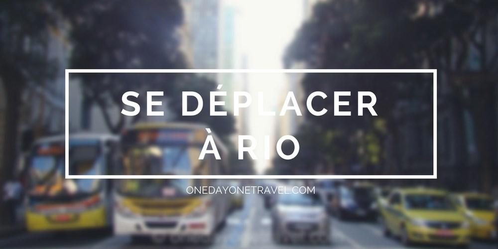 se deplacer à Rio de Janeiro Centro blog voyage