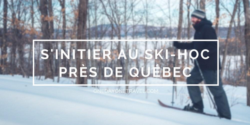 ski hoc initiation québec duchesnay blog voyage