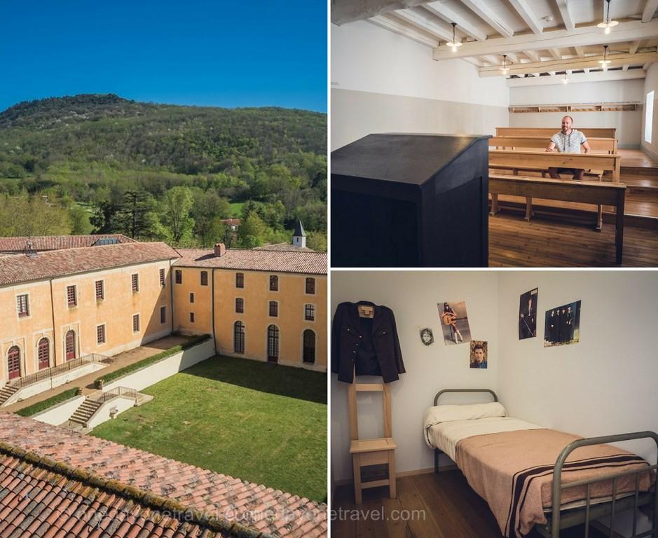 soreze abbaye ecole visite blog voyage