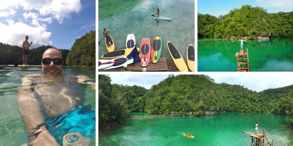 sugba lagoon siargao Richard Philippines