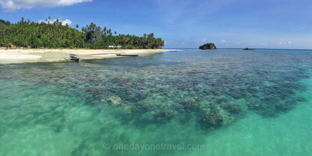 Sulawesi Célèbes togian paradise ile plage