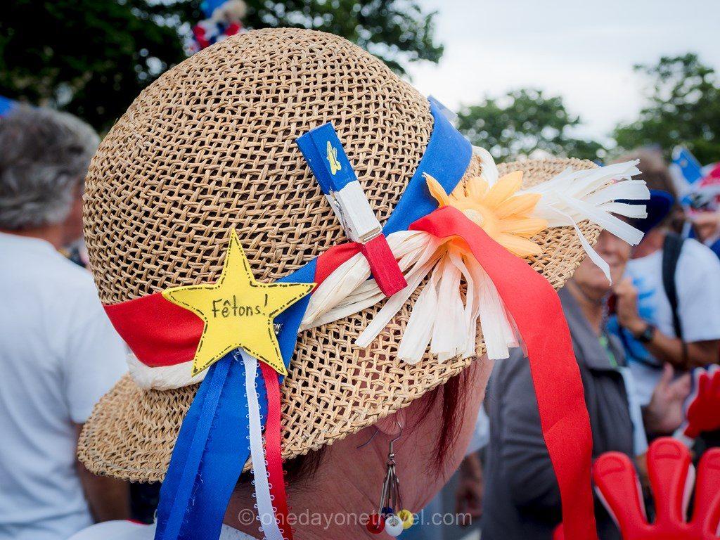 tintamarre Nouveau-Brunswick Canada chapeau