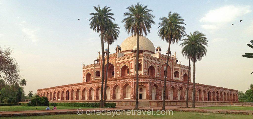 tombeau de Humayun new delhi