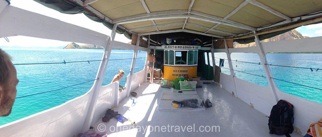 transport Flores bateau croisiere