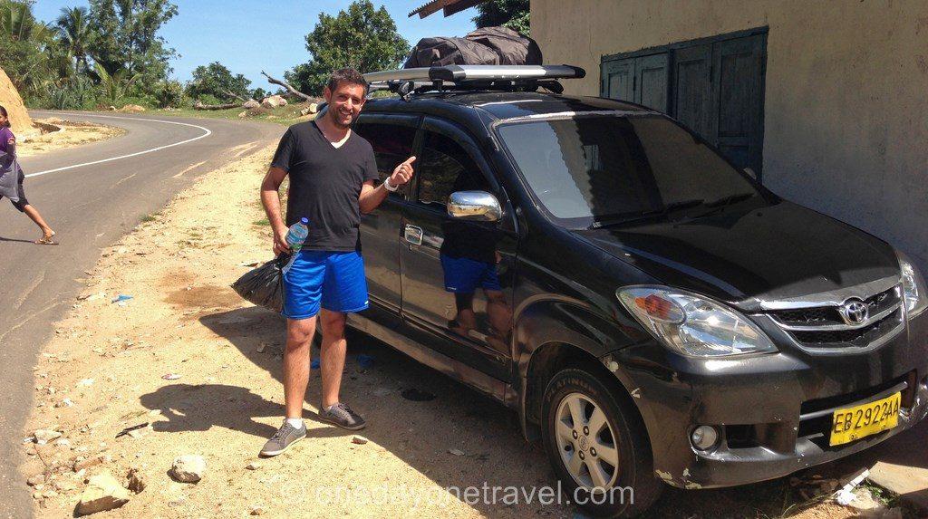 transport Flores taxi partagé