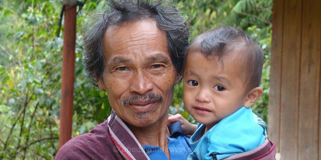 trek pays Toraja locaux