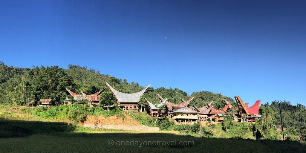 trek pays Toraja village