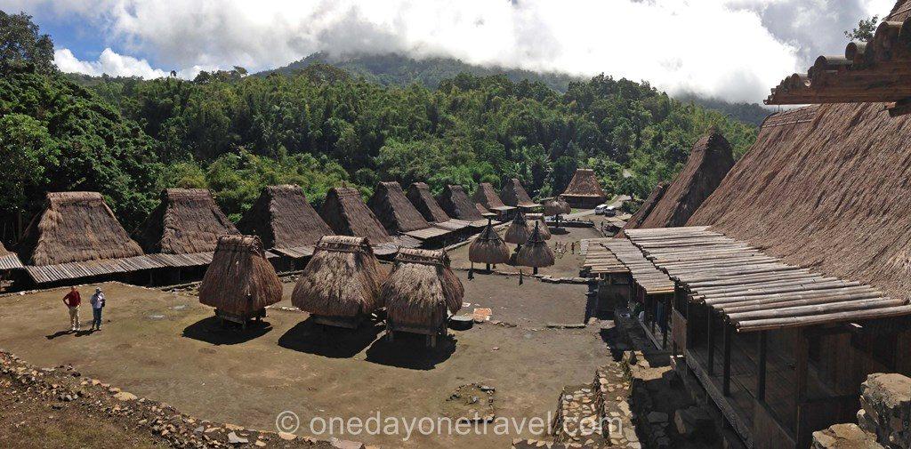 village traditionnel Bena Bajawa Flores blog voyage