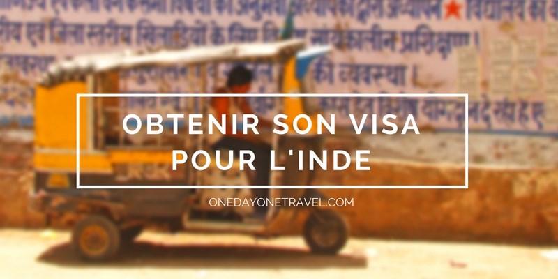 visa inde blog voyage