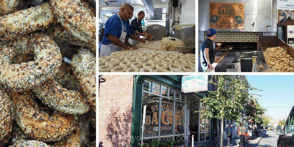 visiter Montréal bagel saint viateur