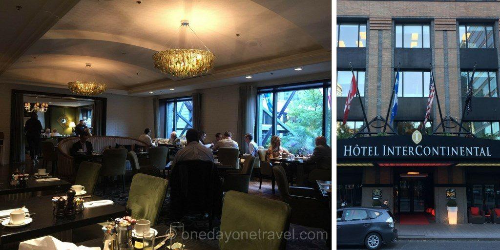 visiter Montréal hotel intercontinental