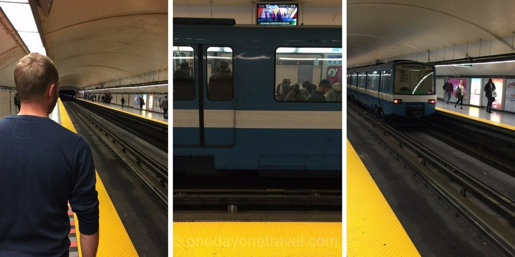 visiter Montréal metro