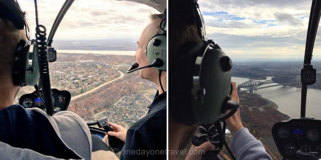vol helicoptere survol quebec blog voyages
