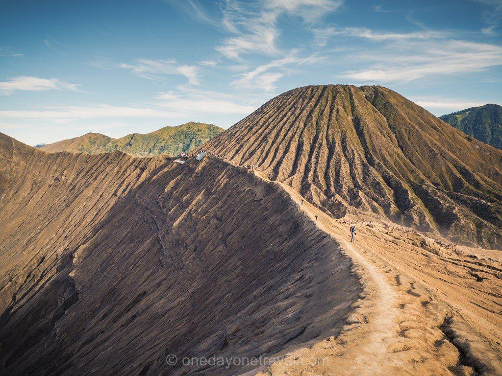 volcans de java crête Bromo