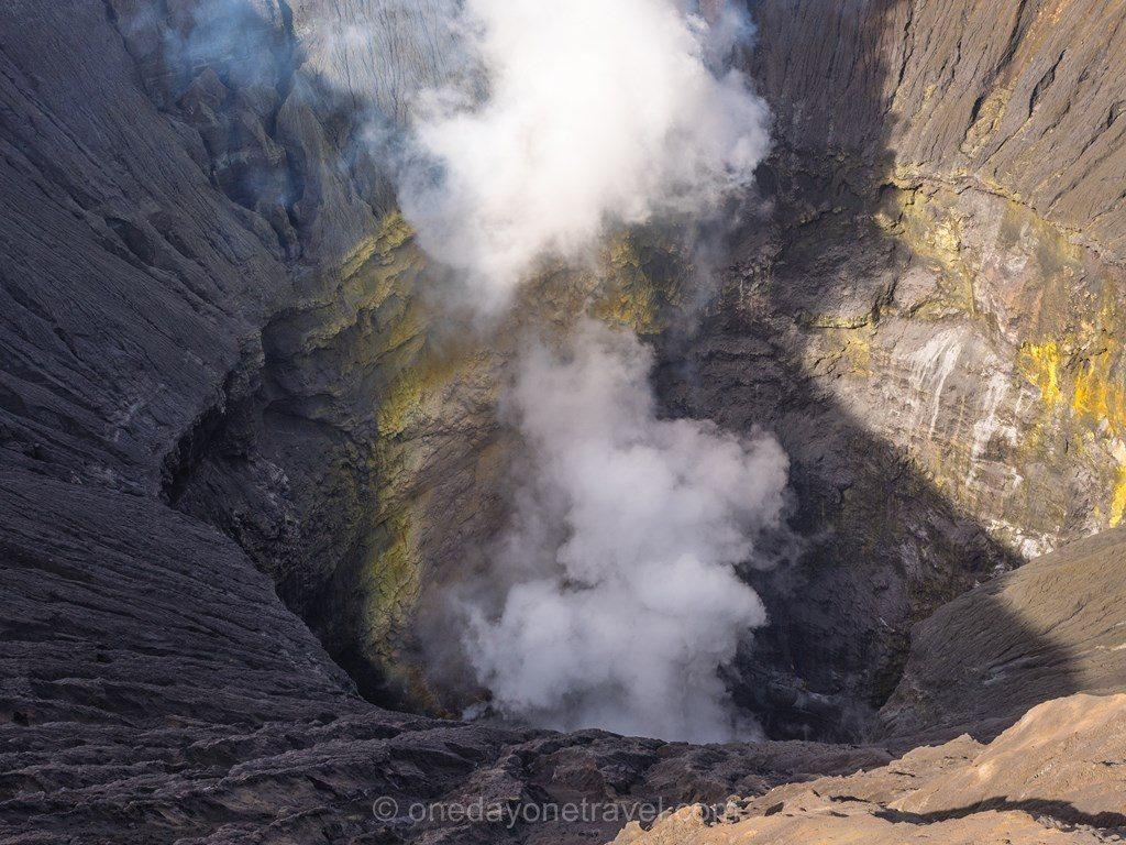 volcans de java cratère Bromo