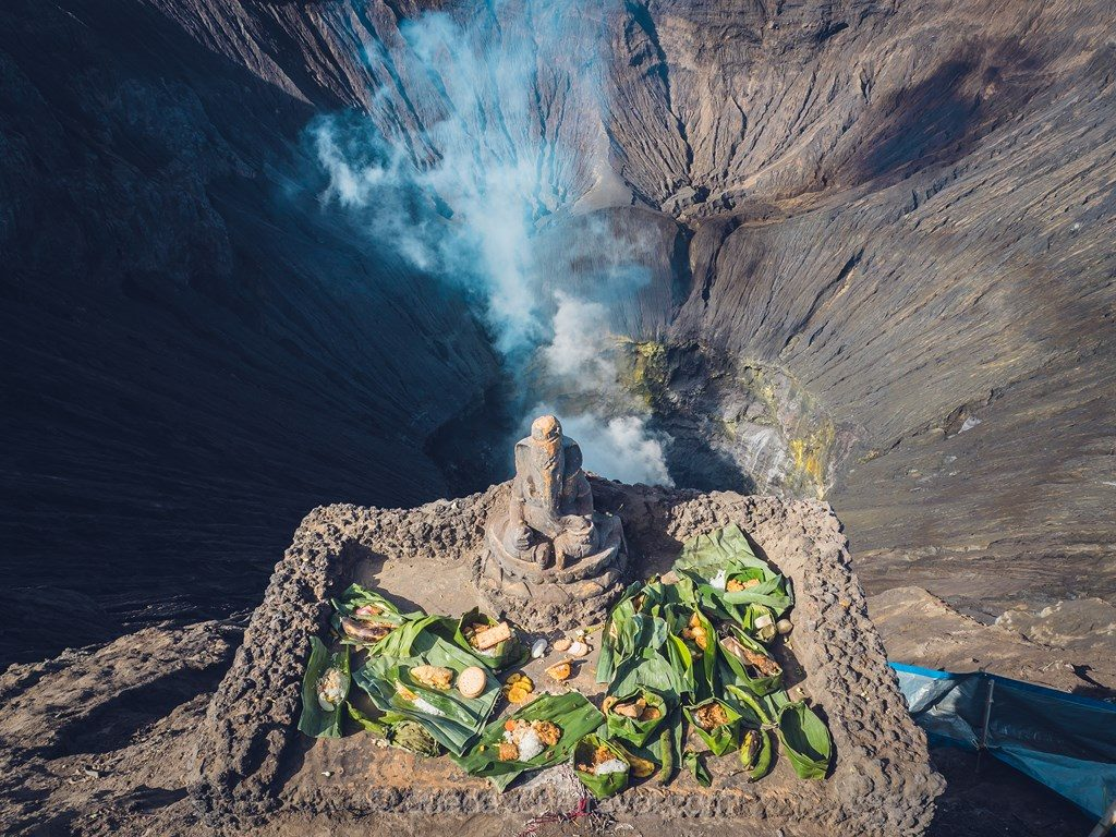 volcans de java cratère Bromo Ganesh