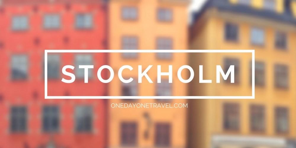 Visiter Stockholm blog voyage
