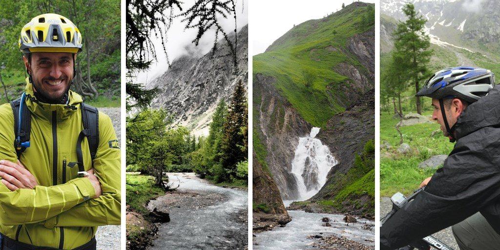 vtt Val Ferret Alpes vélo