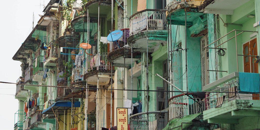 yangon facade