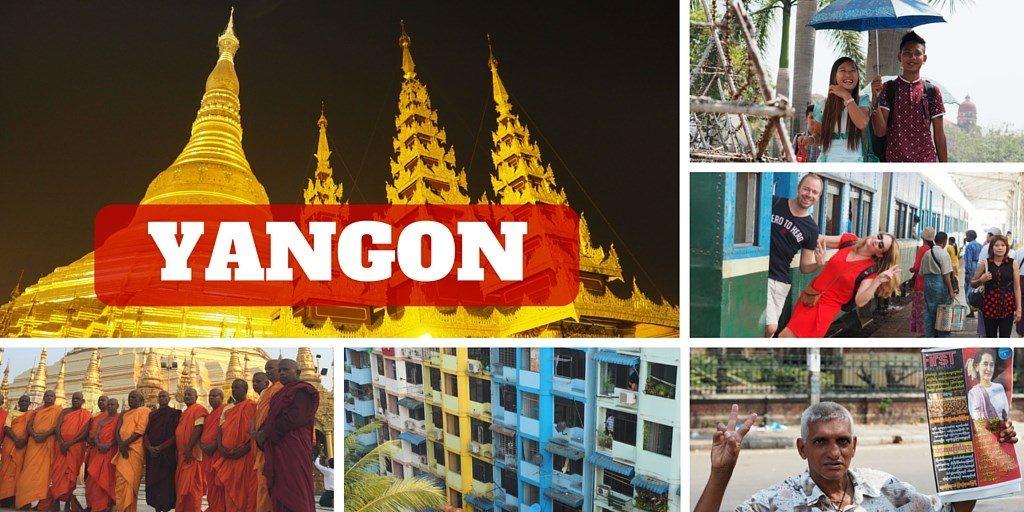 yangon itineraire birmanie
