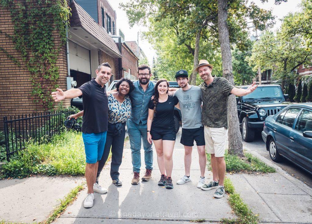 Départ route des explorateurs blog voyage Montréal