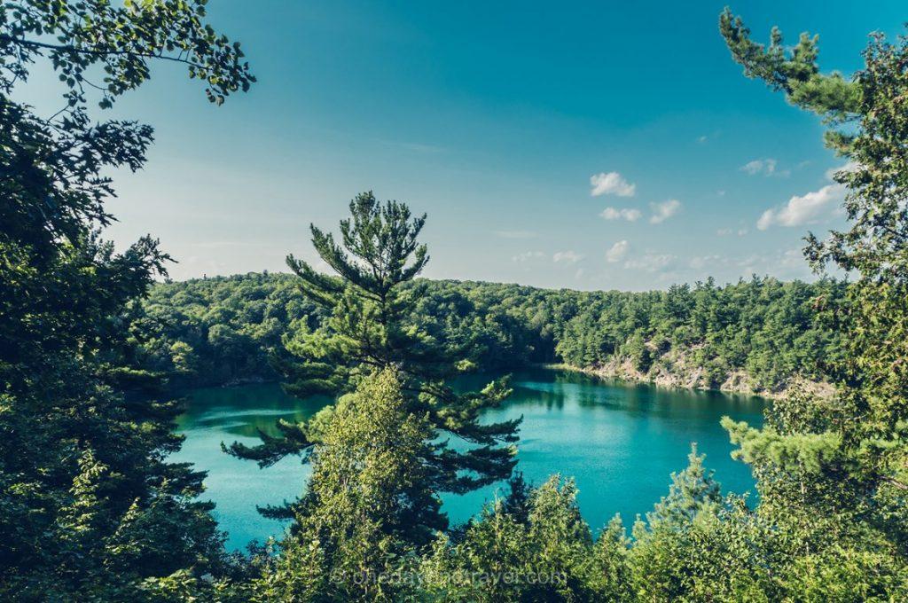 Lac Vert Outaouais Parc Gatineau