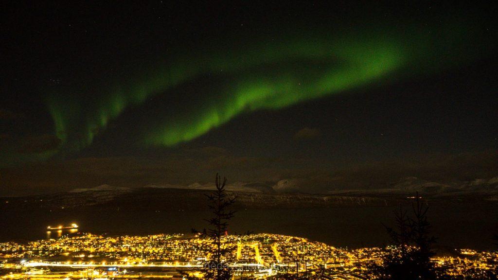 Norvège du Nord Aurores Boréales Narvik