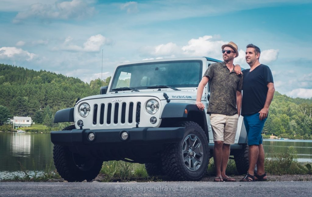 Route des Explorateurs road trip en jeep