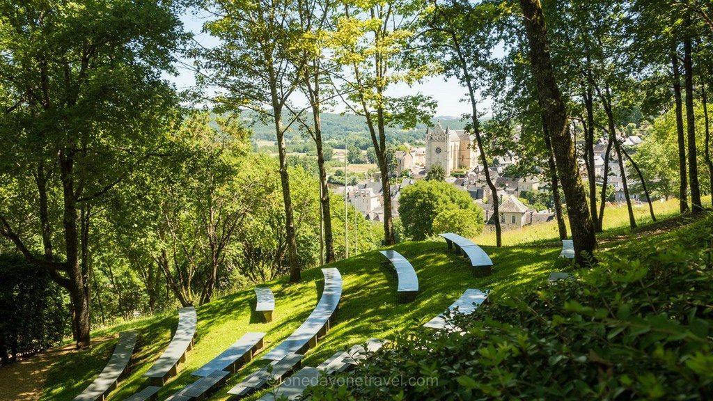 Terrasson amphitheatre Dordogne