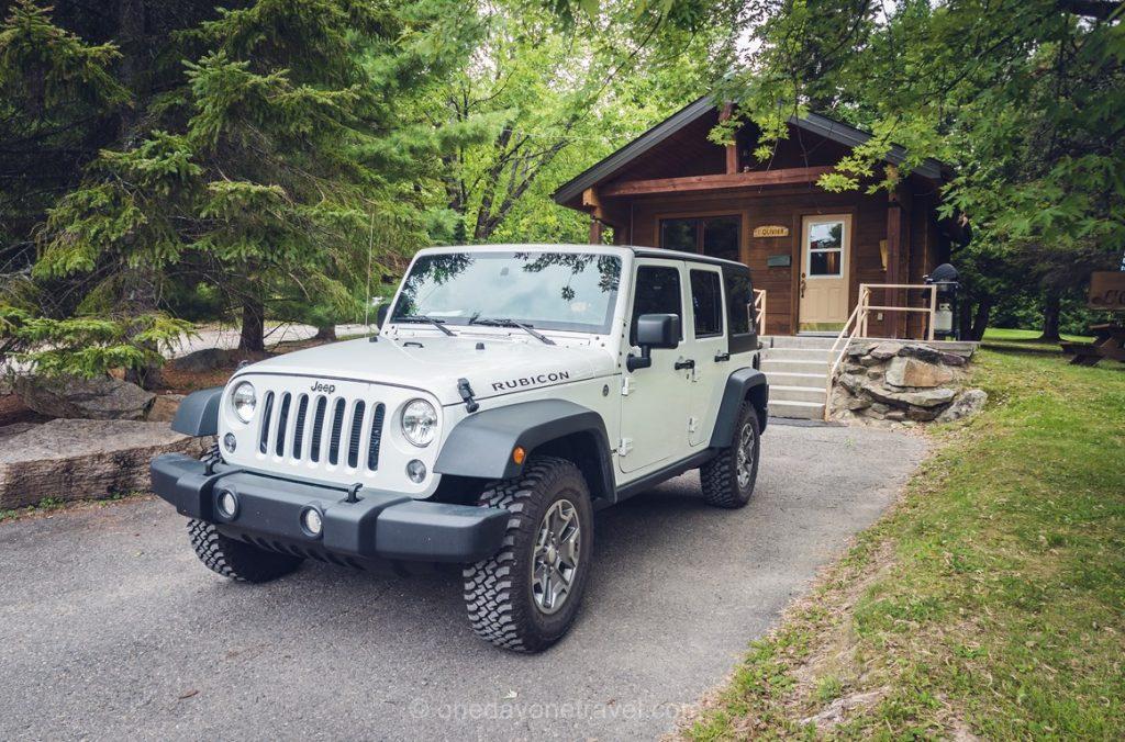 La Bannik chalet jeep
