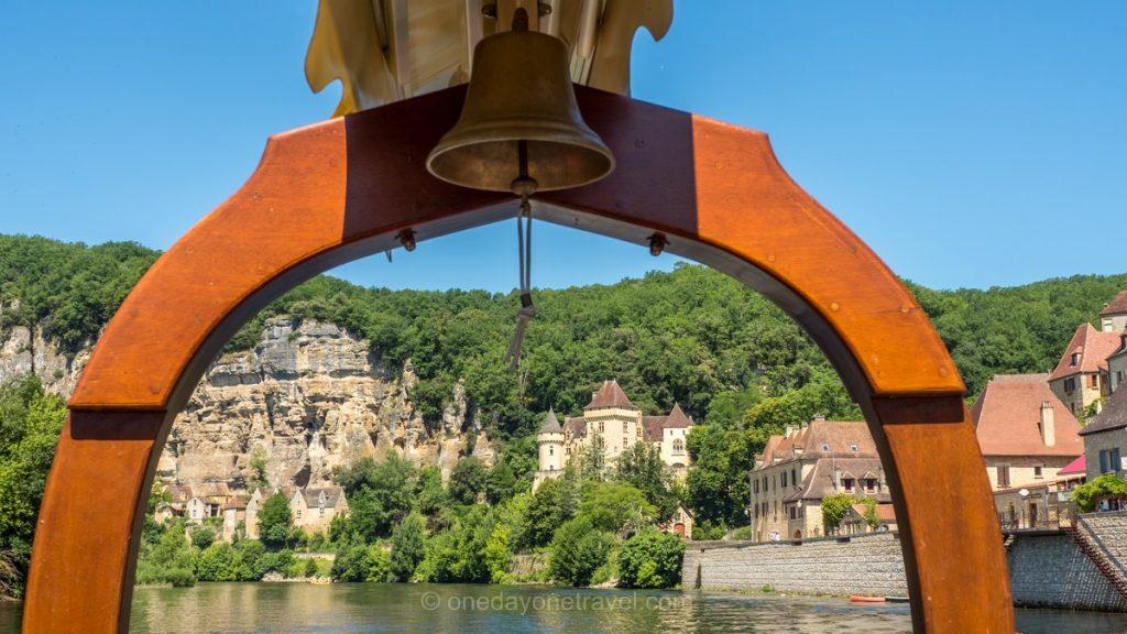 La Roque-Gageac Dordogne gabare