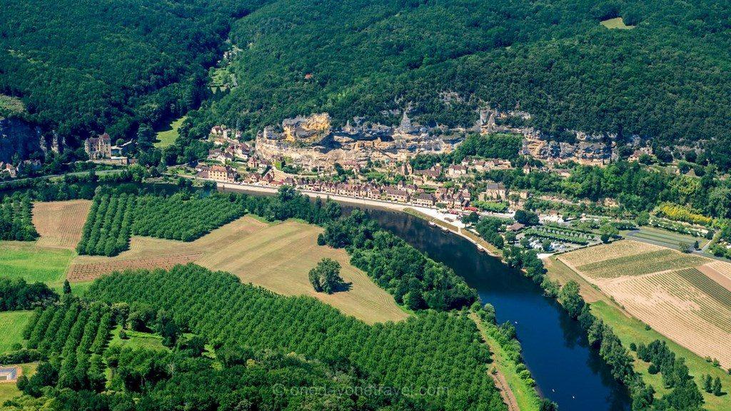 La Roque-Gageac Dordogne Périgord ULM