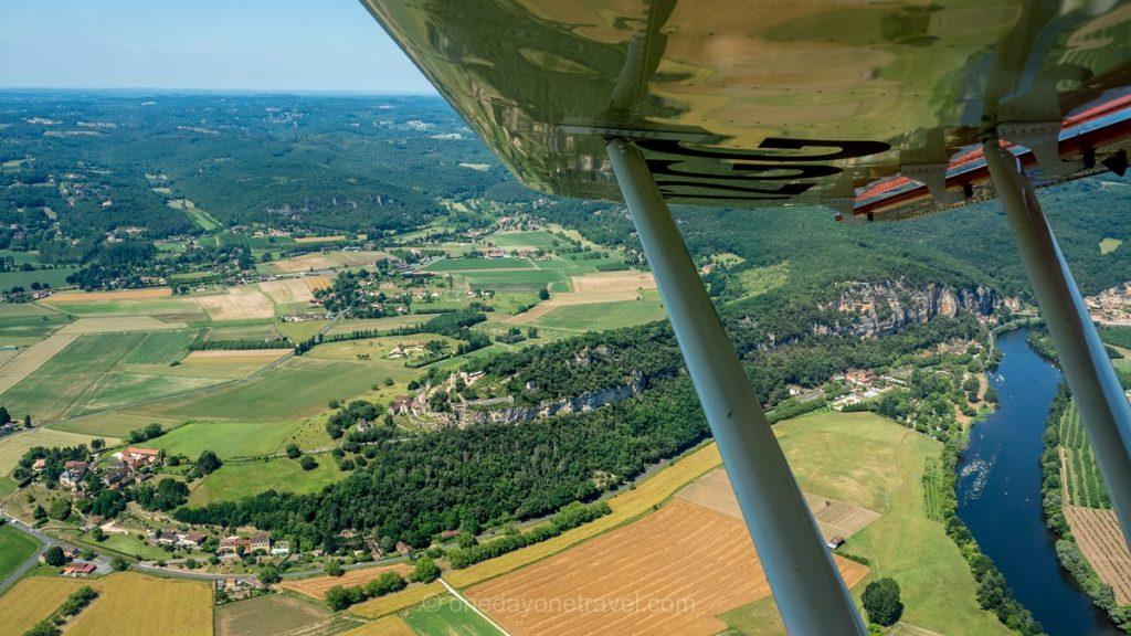 Dordogne en ULM