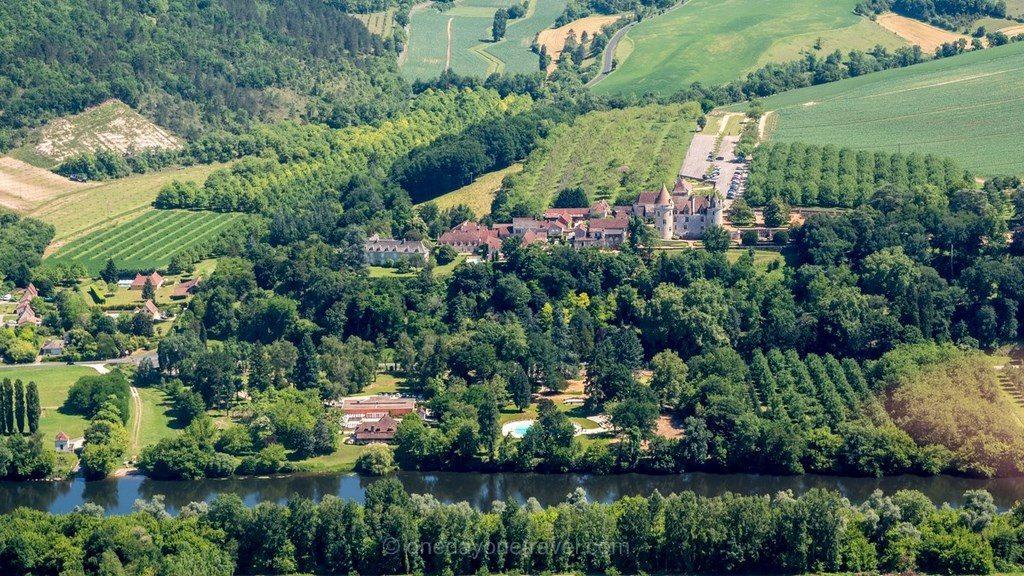 Dordogne vue ULM