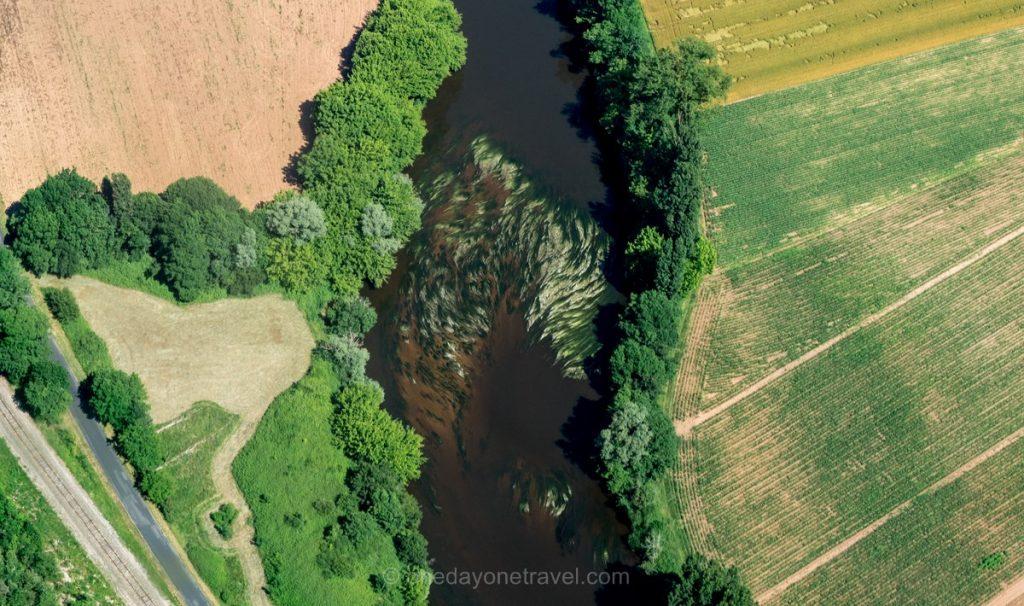 Survol en ULM de la Dordogne