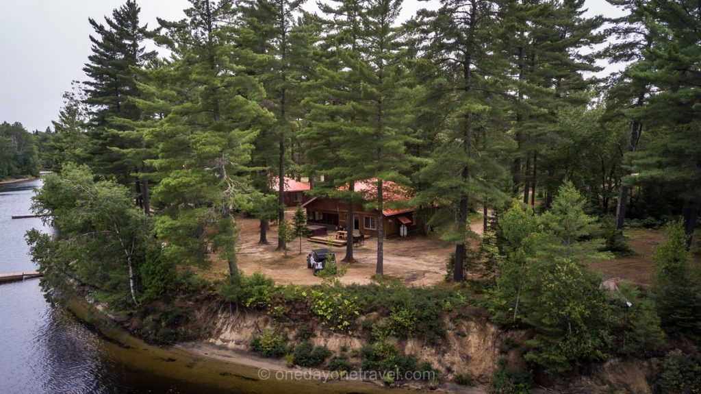 Rabaska Lodge Laurentides riviere