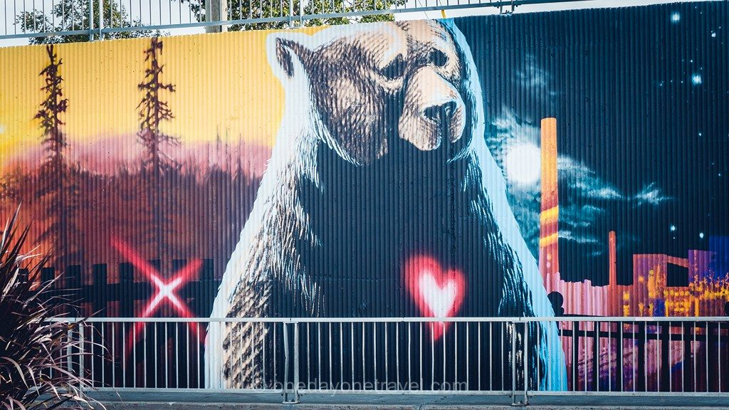 Abitibi ours fresque street art