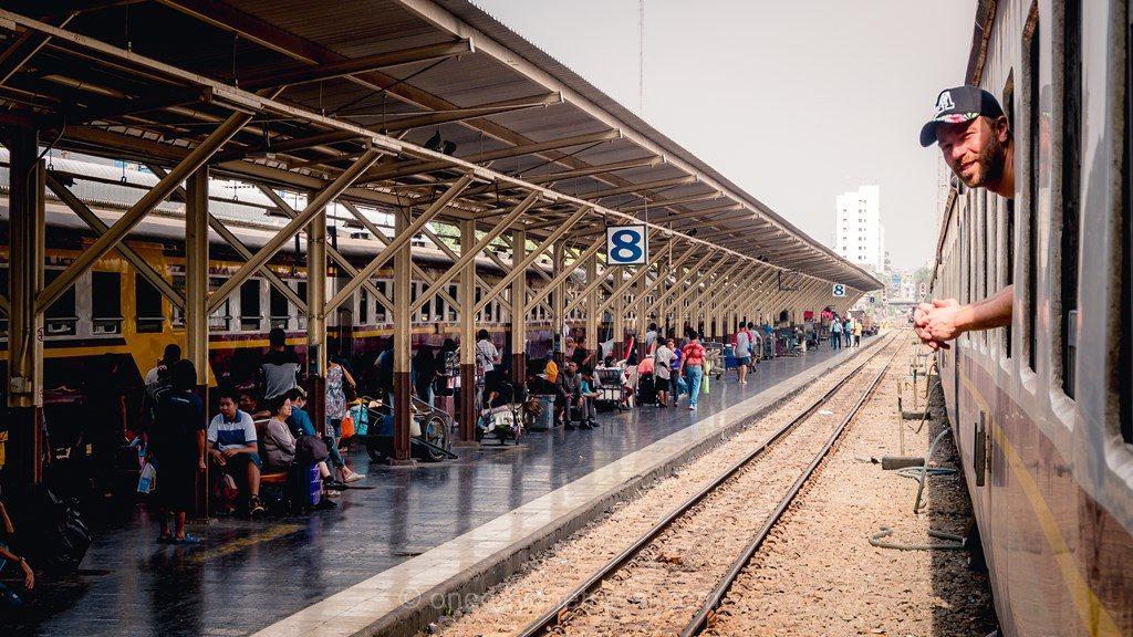 Ayutthaya train depuis bangkok