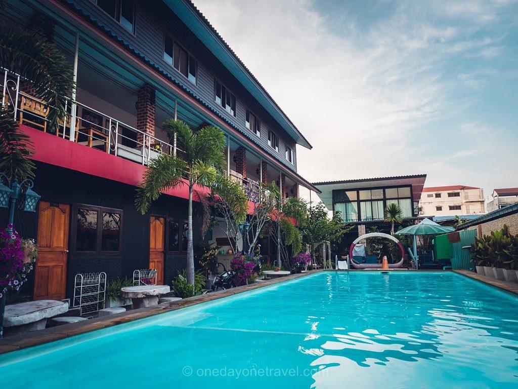 Ayutthaya PU Resort hotel piscine