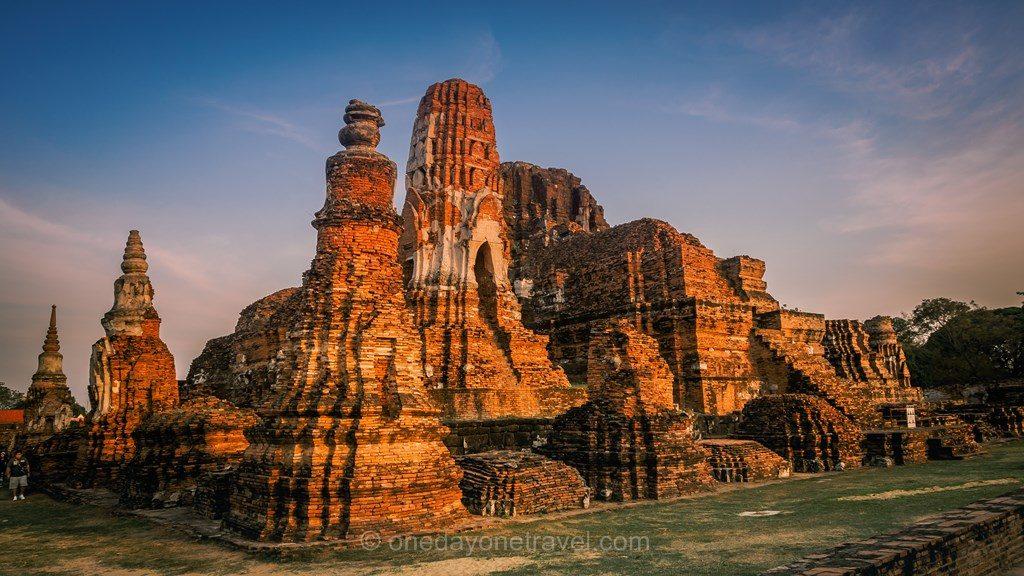 Ayutthaya visite des temples parc historique