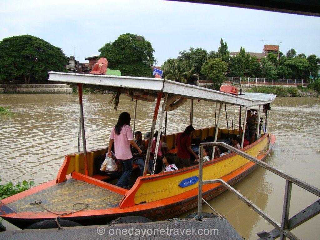 Ayutthaya Thaïlande Blog Voyage OneDayOneTravel traversier