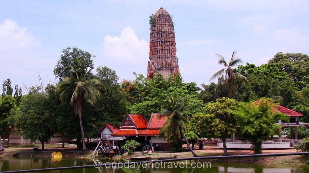 Ayutthaya Thaïlande temple Blog Voyage OneDayOneTravel