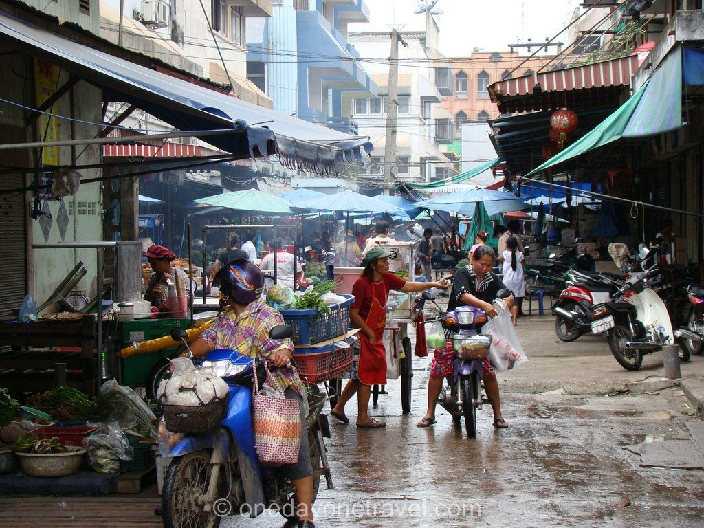 Ayutthaya marché Thaïlande Blog Voyage OneDayOneTravel