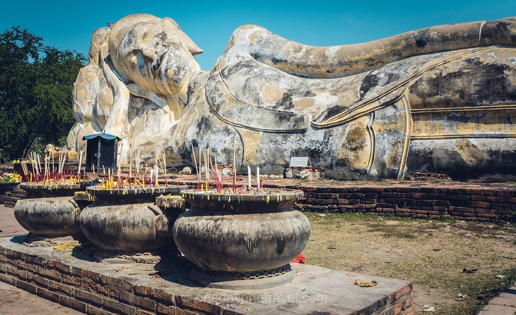 Ayutthaya parc historique Thaïlande 14