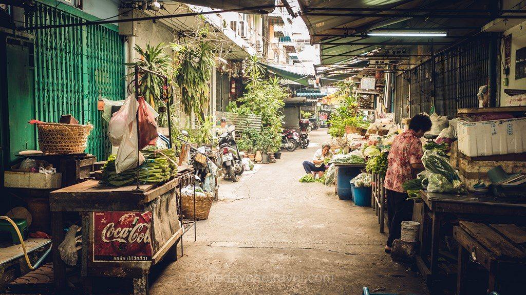 Bangkok Chinatown ruelle