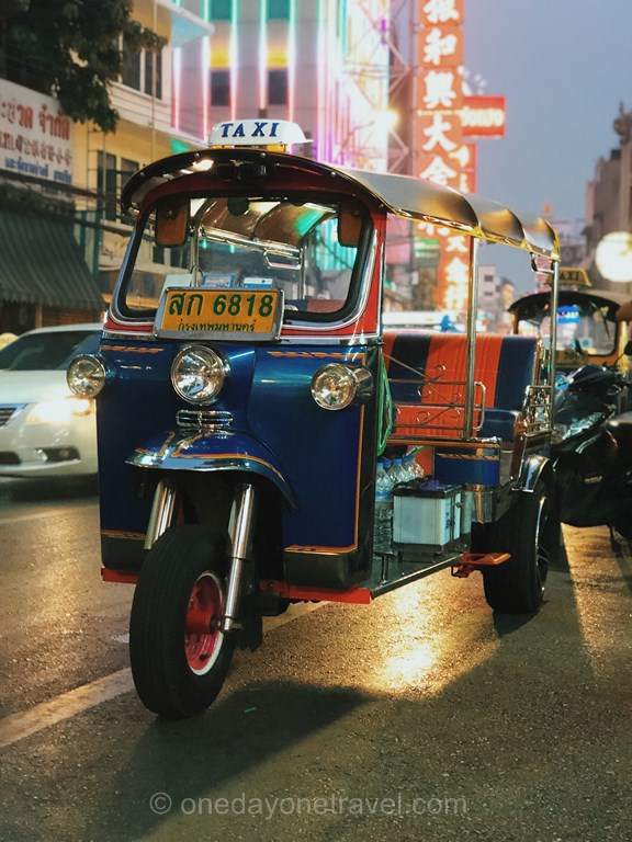 Bangkok Chinatown Tuk Tuk