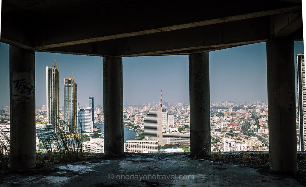 Bangkok Ghost Tower vue impressionnante