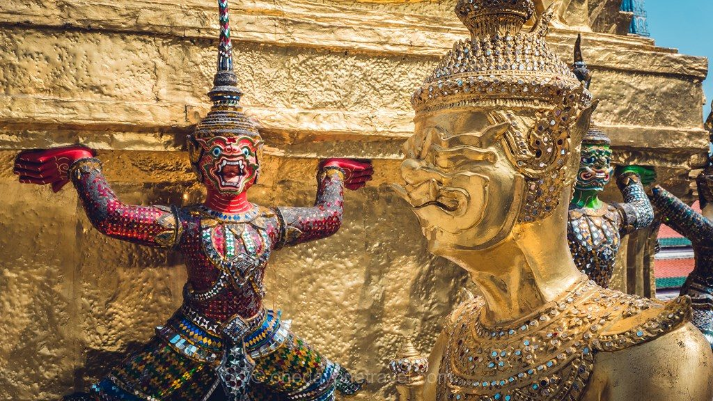 Bangkok Visite du Palais Royal
